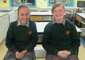 Aisling Henderson and Ciara Heffernan