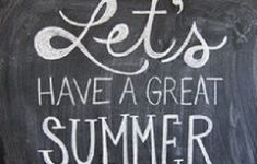 Lets Have a Great Summer